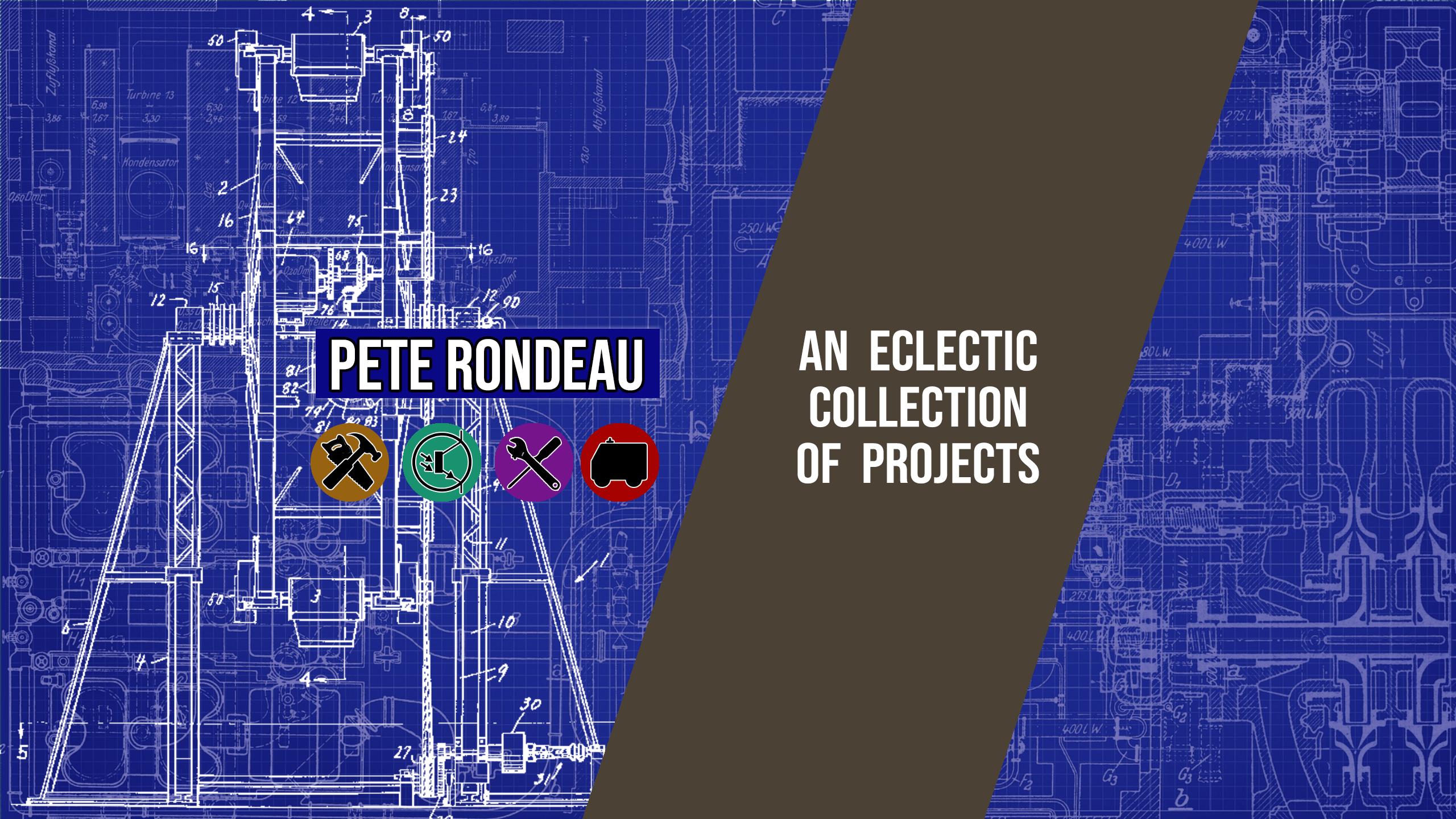 Pete Rondeau Channel Art