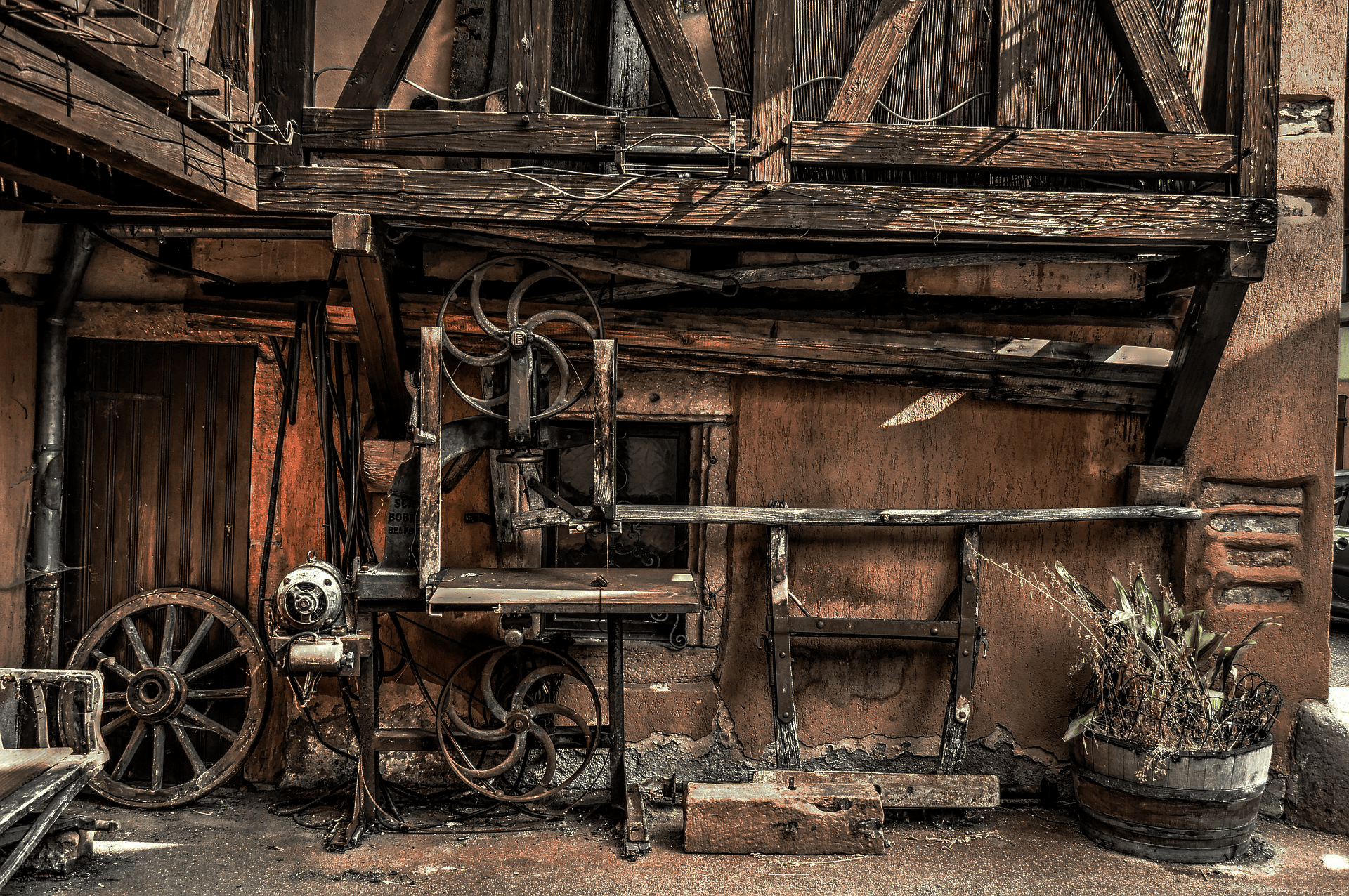 Rustic Woodwork