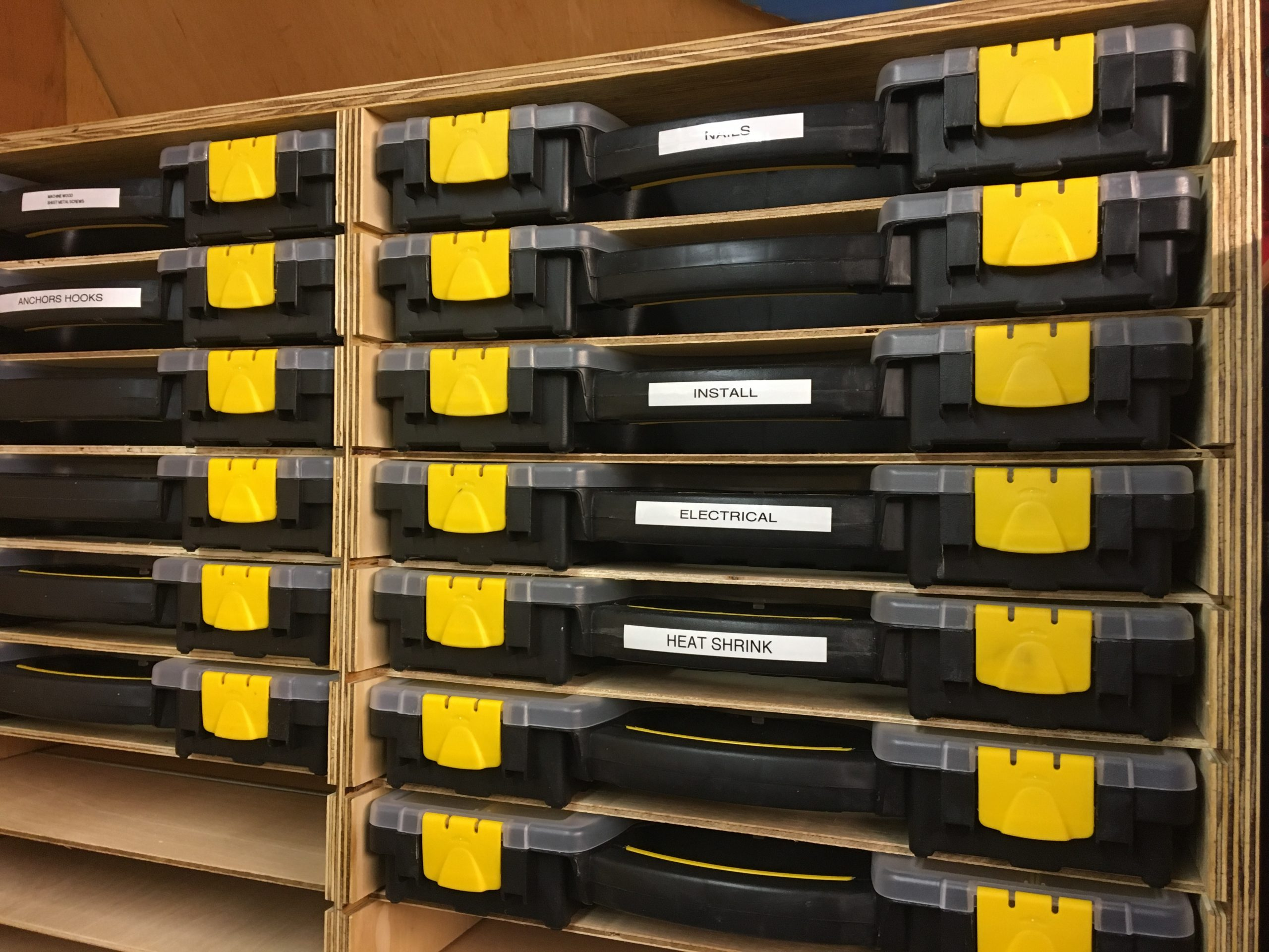 Harbor Freight Storage Case Rack
