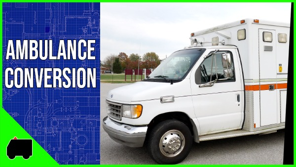 1994 Ford E350 Ambulance Conversion
