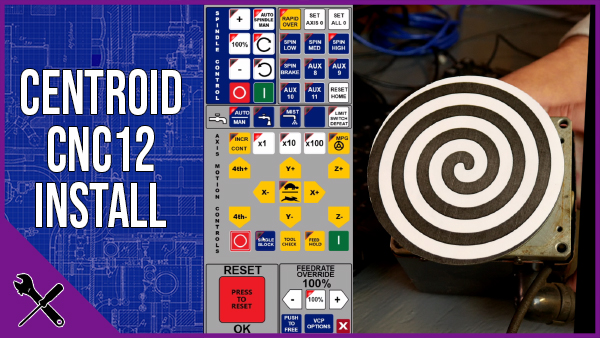Install and Test Centroid CNC12 software