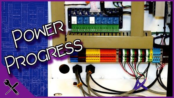 DM2800 Wiring Progress