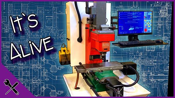 CNC retrofit complete
