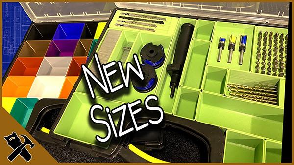 3D printing storage Bins