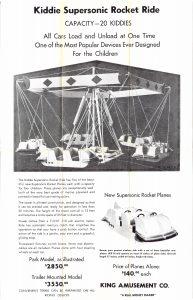 Original King Brochure