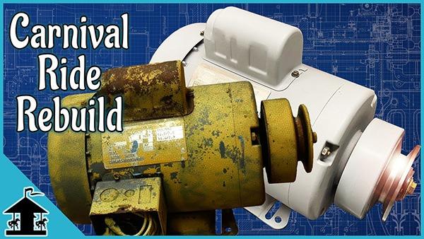 Dayton Electric Motor Rebuild